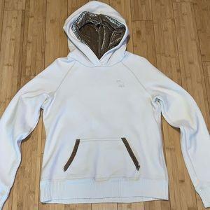 Abercrombie & Fitch Ezra Fitch beaded sweatshirt